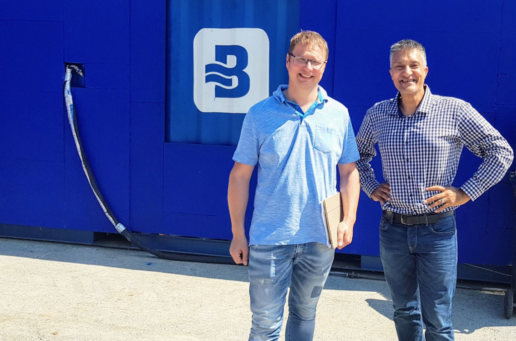 German Farmer purchases first manure treatment system from Bluetector