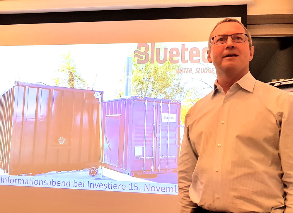 Bluetector Chairman Stephan Fritz