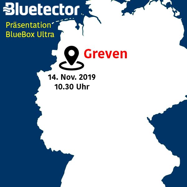 Bluetector Einladung Präsentation BlueBox Ultra